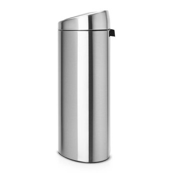 Brabantia Prullenbak 40 Liter.Touch Bin 40 Liter Afvalemmer Ikshop