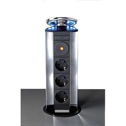 Evoline EVOLINE POWERPORT 3ST STOPCONTACT - MET LED.
