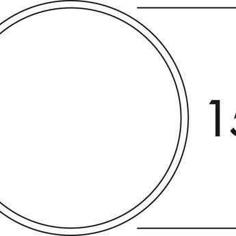 Muurdoorvoer afzuigkap150 Klima-Blow-E wit/Roestvrij staal