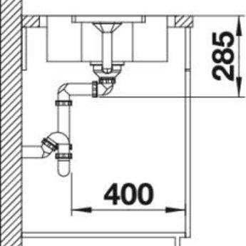 Wasbak Keuken LANTOS 45 S-IF