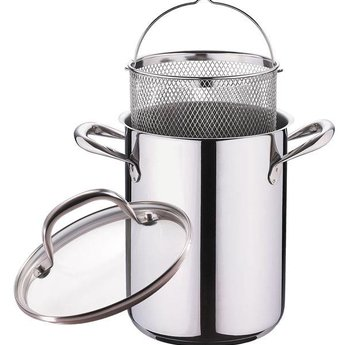 Roestvrijstalen asperge-/ pastapan met deksel (4,2 l.)
