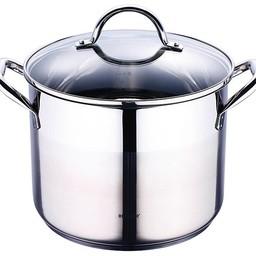 Roestvrijstalen kookpan met deksel (8,2 liter)