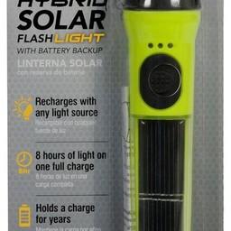 Solar LED zaklamp, 40 Lumen