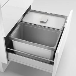 Naber Lade indeling - Cox - Box 220/600-2, Verzamelsysteem, licht grijs,