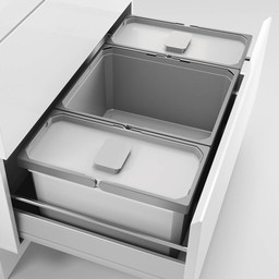 Naber Lade indeling - Cox - Box 220/800-3, Verzamelsysteem, licht grijs,