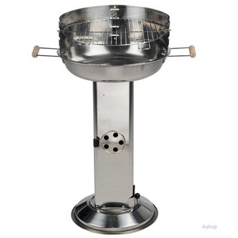 Roestvrijstalen kolom barbecue