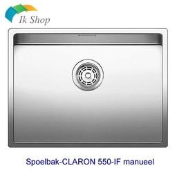 Blanco Spoelbak-CLARON 550-IF manueel