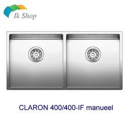 Blanco Spoelbak-CLARON 400/400-IF manueel