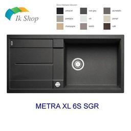 Blanco Spoelbak - Blanco METRA XL 6S SGR Manueel of Automatisch openen