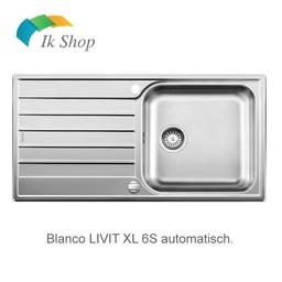Blanco Spoelbak LIVIT XL 6S auto.