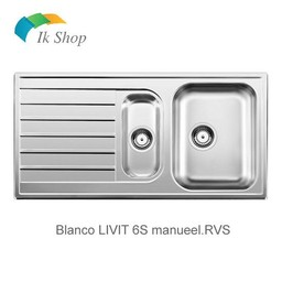 Blanco Spoelbak RVS LIVIT 6S