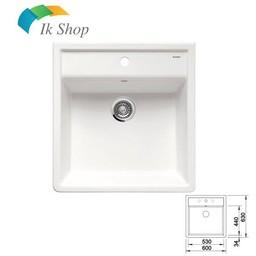Blanco Spoelbak Keramiek PANOR 60 Kristal wit