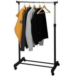 Mobiel kledingrek 80x42x165cm