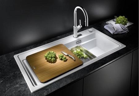 spoelbak keuken etagon 500 silgranit onderbouw ikshop. Black Bedroom Furniture Sets. Home Design Ideas