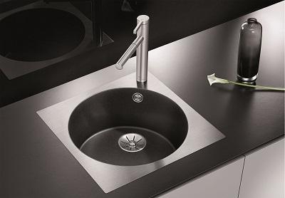 Spoelbak keuken Blanco Artago 6 SteelFrame Antraciet-1
