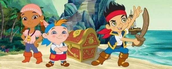 Jack en de nooit gedachtland piraten