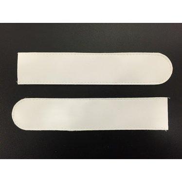 GOALKEEPER GLOVES VELCRO CLOSURE WHITE