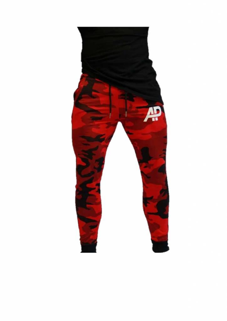 ApolloProtocol Limited Edition AP Camo Jogger Red Xv