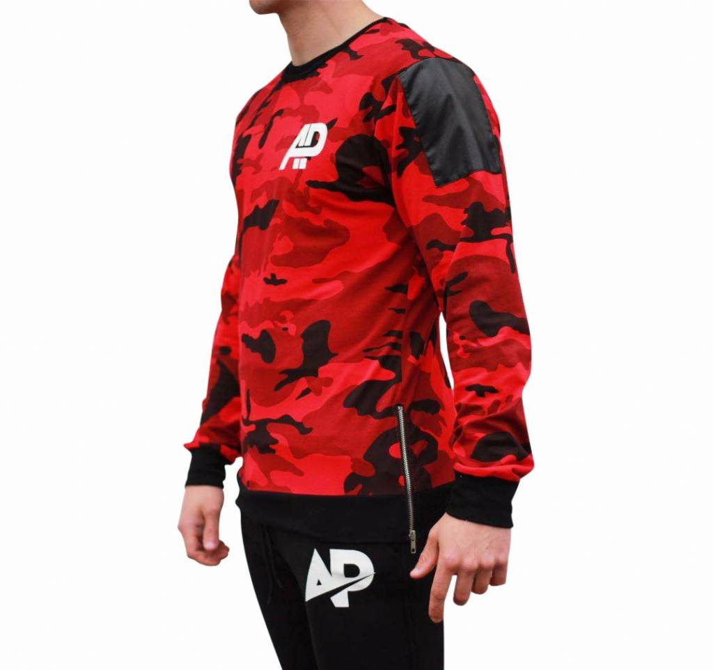 ApolloProtocol Limited Edition AP Camo Sweater Xv