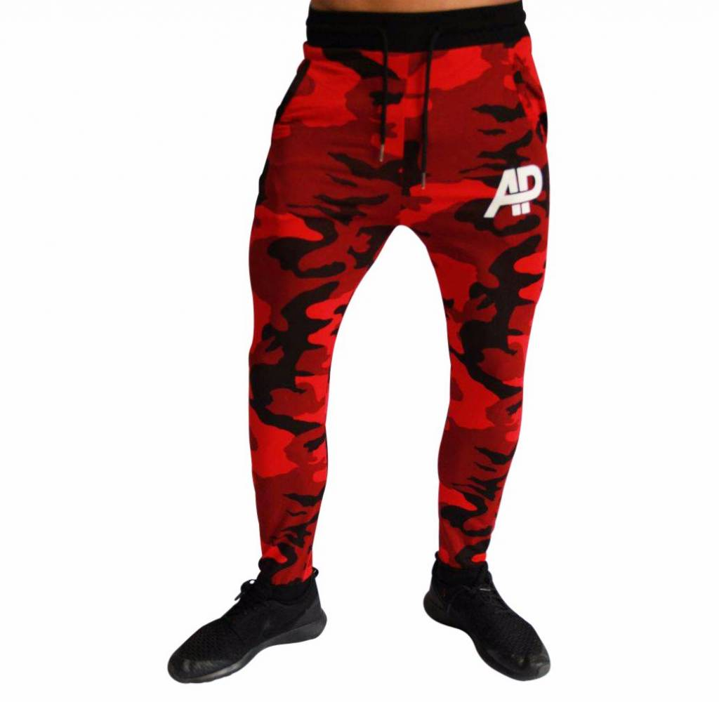 ApolloProtocol Limited Edition AP Camo Jogger Red Xv
