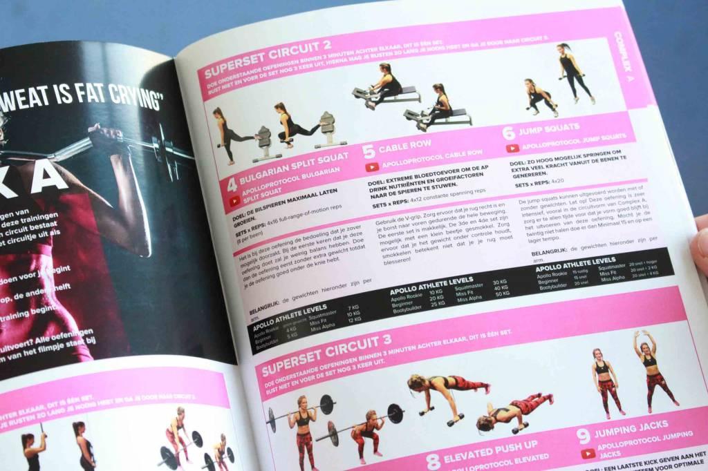 ApolloProtocol ApolloProtocol Fitness Guide for women