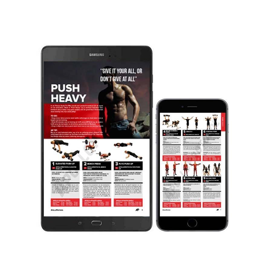 ApolloProtocol AP Test Workout eBook- mannen