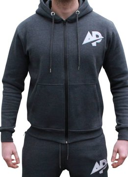 ApolloProtocol AP Fleece vest - Coal grijs