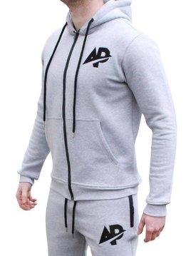 ApolloProtocol AP Fleece vest - Grijs