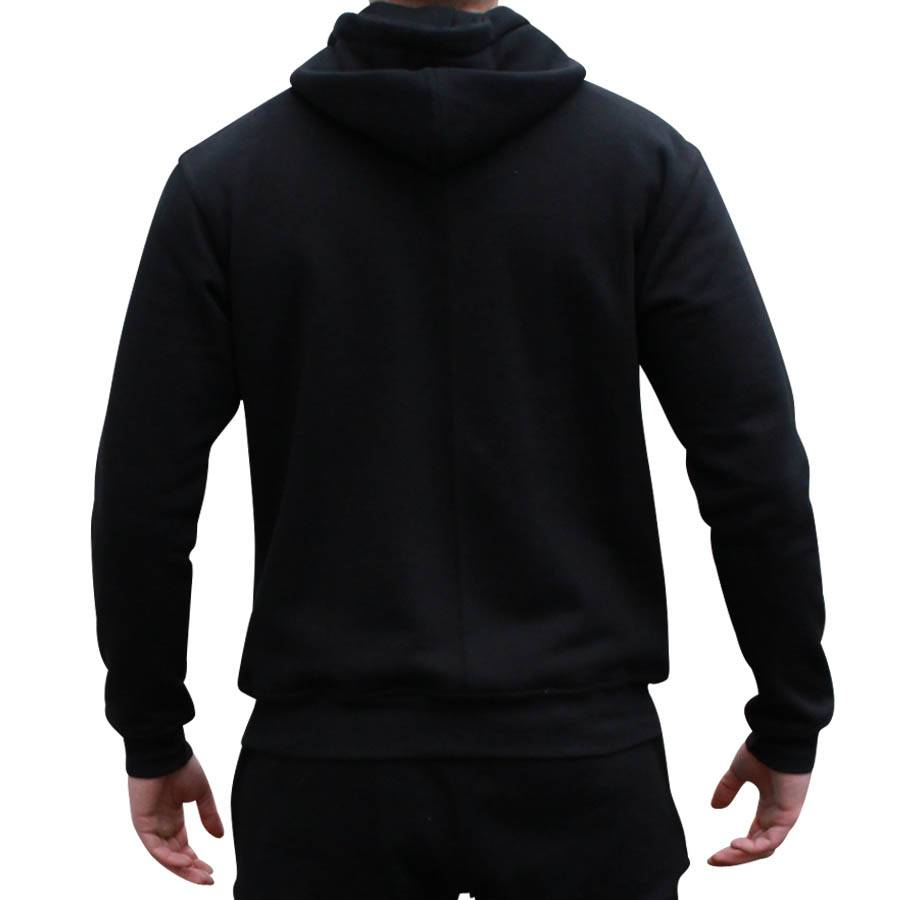 ApolloProtocol AP Fleece vest zwart