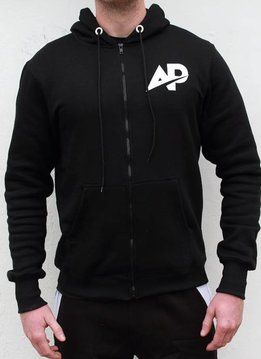 ApolloProtocol AP Fleece vest - Black