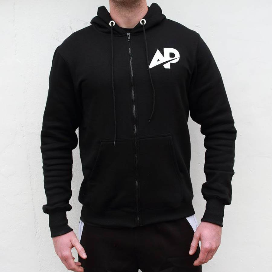 ApolloProtocol AP Fleece vest - Black