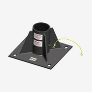 Xtirpa Xtirpa in-2254 central floor adapter base