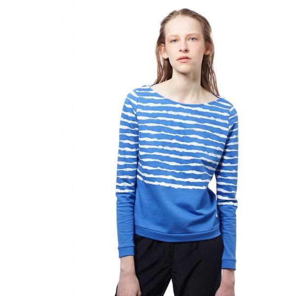 ARI ZEBR Blue Water Sweatshirt: S & L
