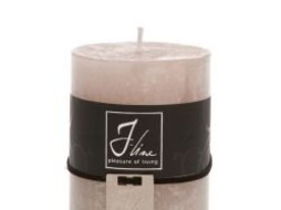 J-Line Candle mouse grey