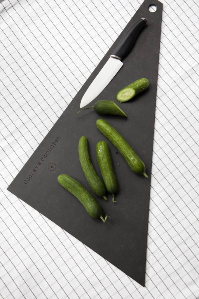 Clodette snijplank groenten vierhoek