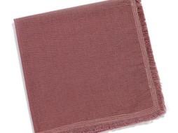 Pascale Naessens serviette purper Pascale Naessens