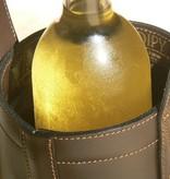 Midipy Lederen Flessenhouder en koeler
