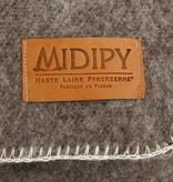 Midipy Plaid licht bruin 100% wol