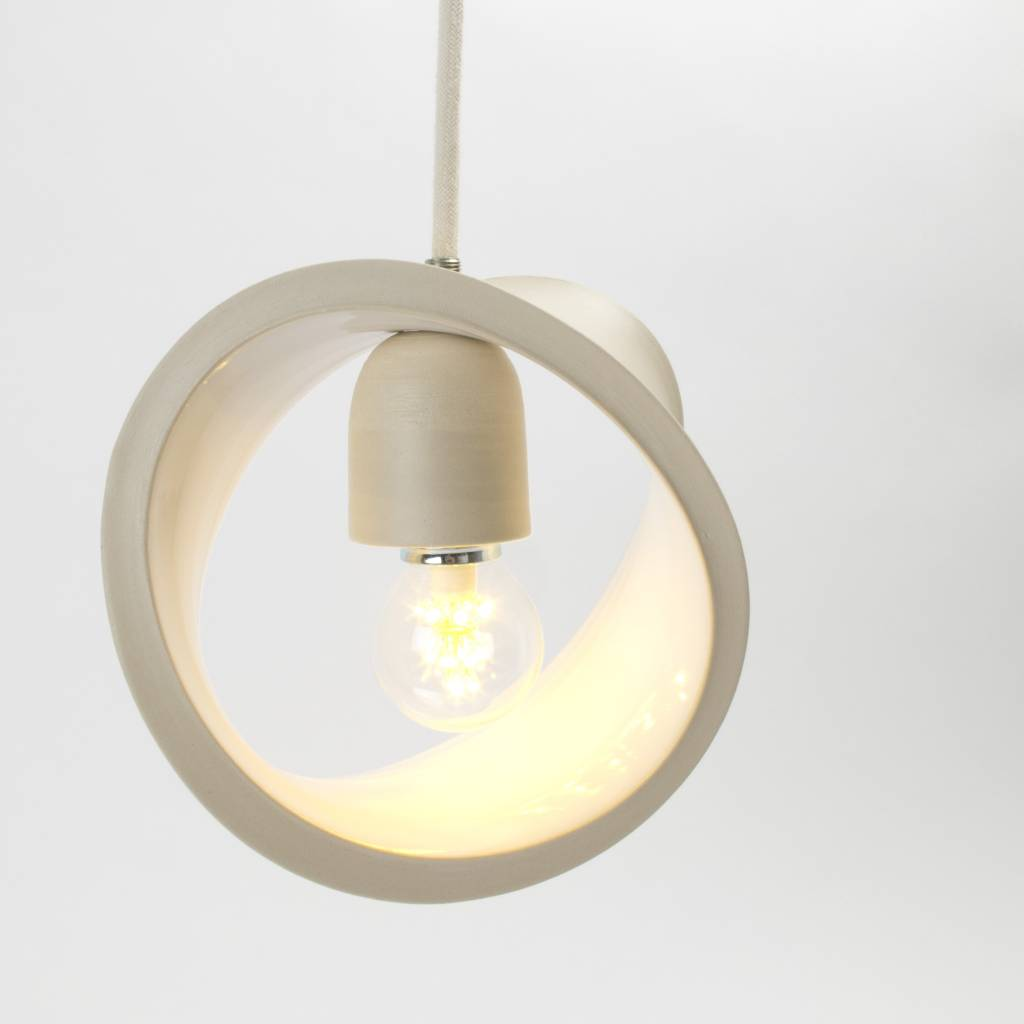 Atelier Oker Staande of hanglamp keramiek