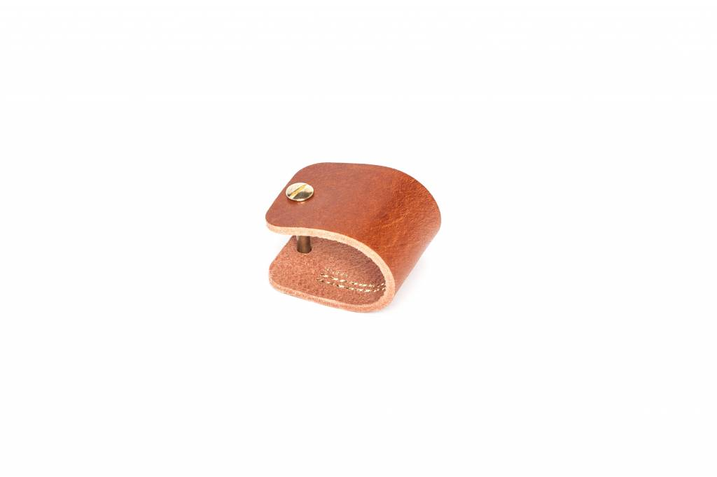 Double Stitched Napkinring leather 3 colours