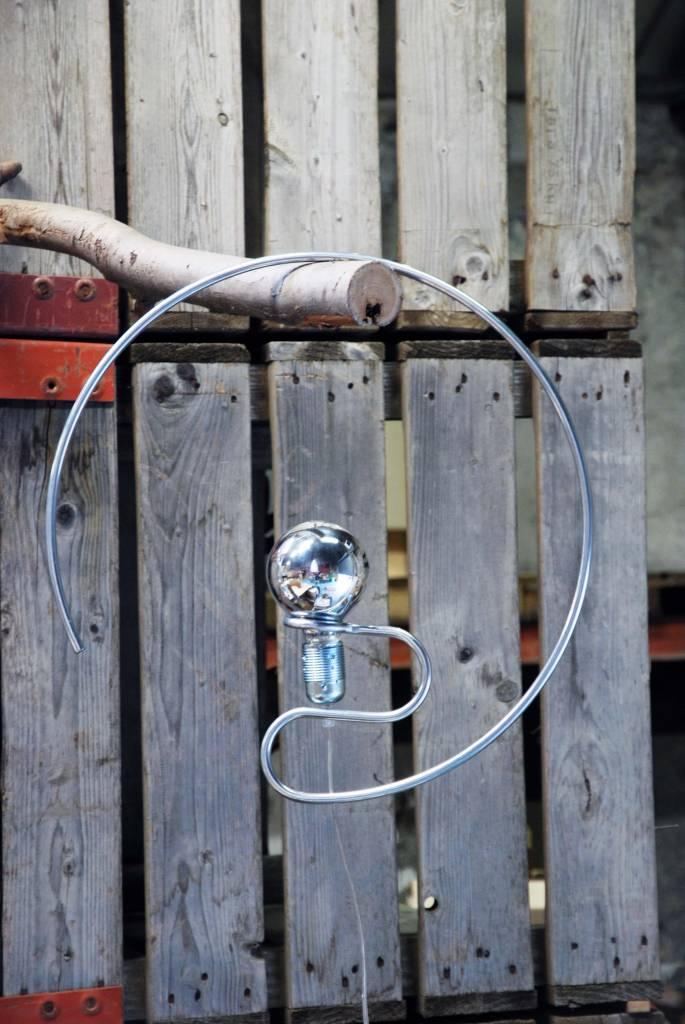 hanglamp houder la boutique blanche. Black Bedroom Furniture Sets. Home Design Ideas