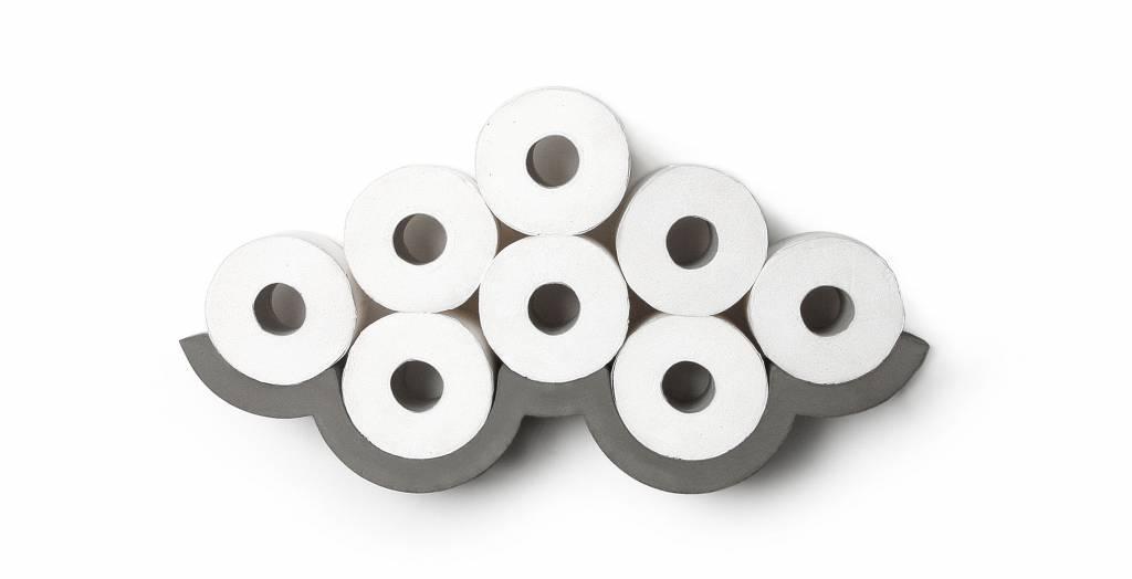 Cloud s toilet paper holder la boutique blanche
