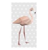 Lé Papiers de Ninon Behang flamingo Cassandre