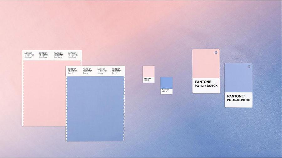 Palette Pantone 2016