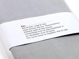 Serax Servetring met gedicht NL