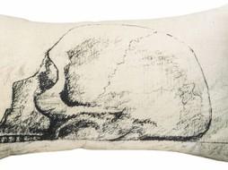 Leligne Kussen print Design Skull 30x50