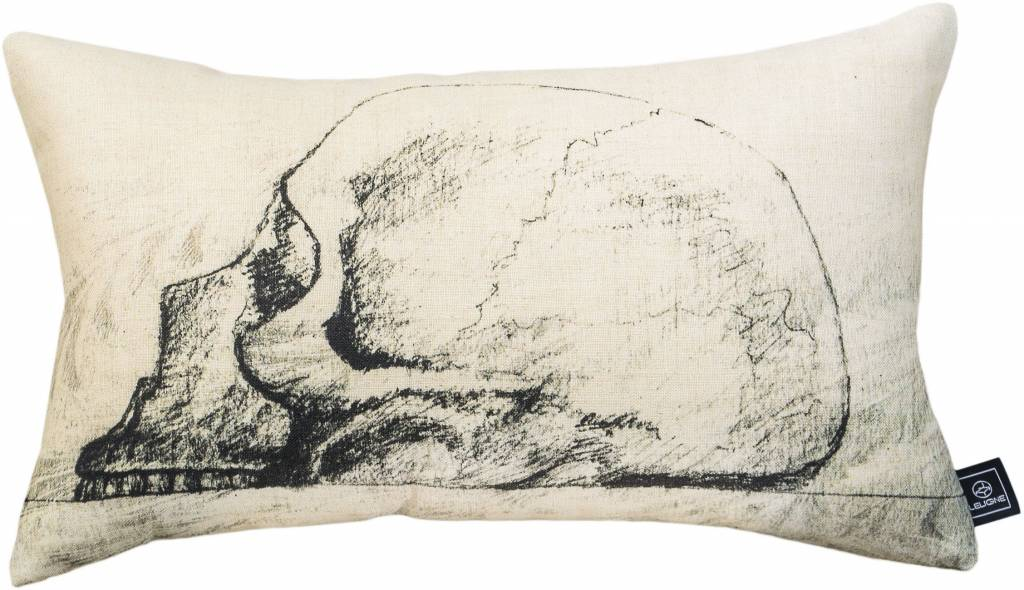 Leligne Kussen print Design Skull