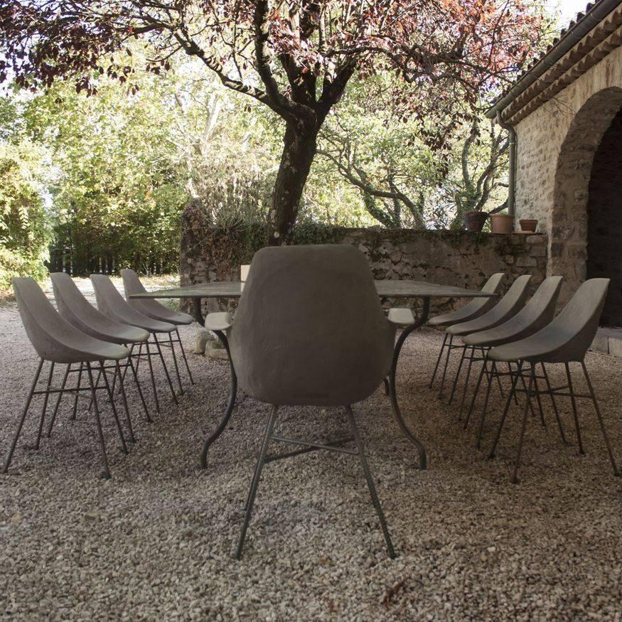 Lyon Béton Hauteville Concrete chair