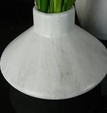 J-Line Erlenmeyer vase marmerlook