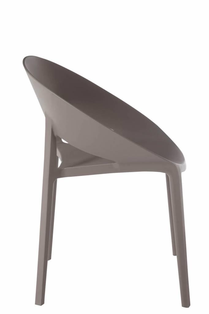 J-Line Chair Lola taupe